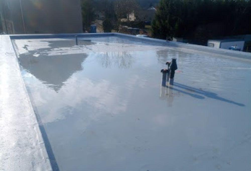 Izolace plochých střech - Hi-izol